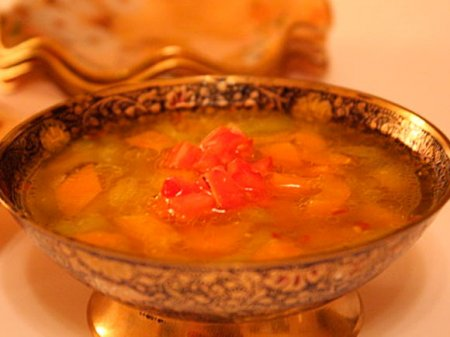 Огуречный суп с болгарским перцем