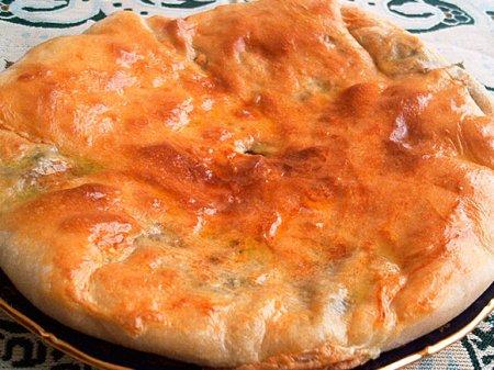 Сырный пирог по-осетински
