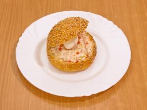 Закуска «Морская раковина»