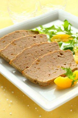 Мясной паштет с салом и морковью
