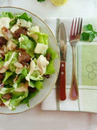 Вкусный салат «33 удовольствия»