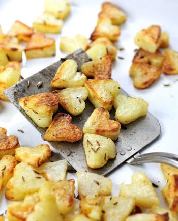 Жареная картошка для влюбленных