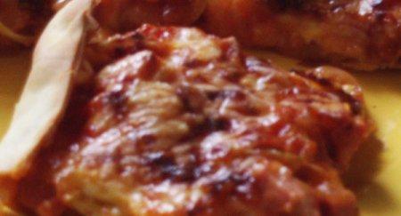 Рецепт домашней пиццы без дрожжей