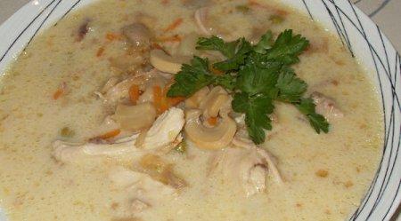 Сырный суп рецепт с шампиньонами