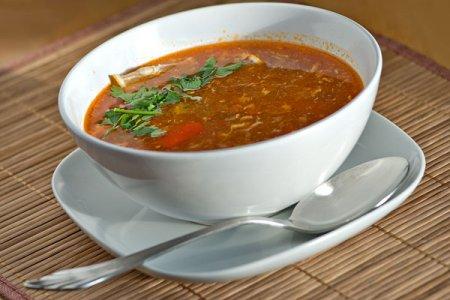 Острый рыбный суп (уха с венгерским акцентом)