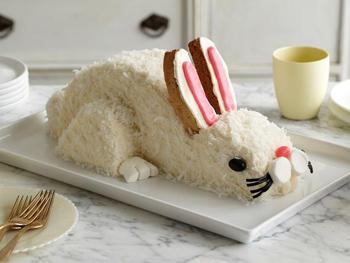 Сырный кролик к Пасхе