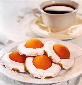 Пасхальное абрикосовое печенье