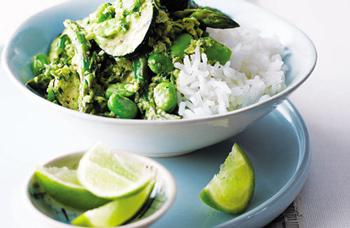 Зеленое тайское карри