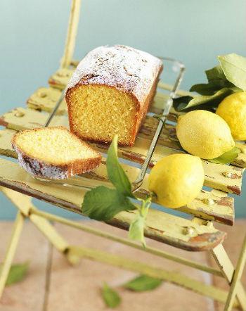 Кулич с лимоном