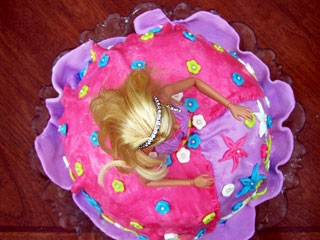 Детский торт Барби