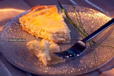 Киш с сыром