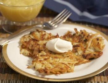 Драники картофельные с чесноком