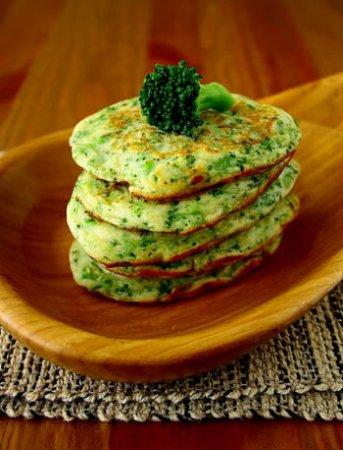 Вкусные оладьи из брокколи