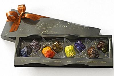 Шоколадные метеориты