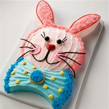 Торт в форме зайца