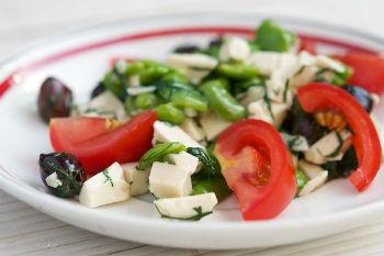 Грузинский салат к шашлыку