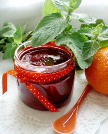 Варенье клубничное с апельсинами