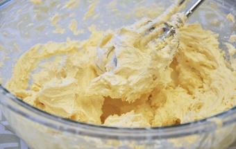Бисквит с творожным кремом