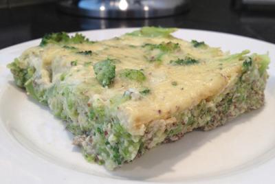 Хлеб из брокколи можно есть даже на диете