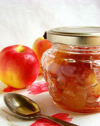 Джем из груш и яблок