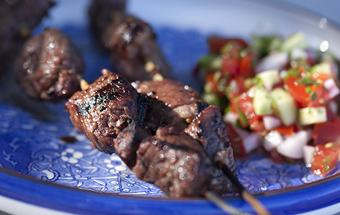 Ики-бир (армянский шашлык)