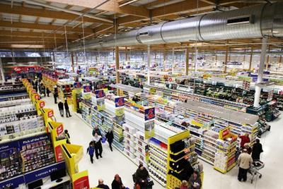 Супермаркет будет следить за питанием покупателей