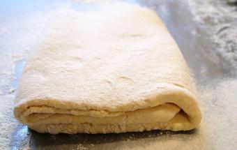 Ленивое слоеное тесто