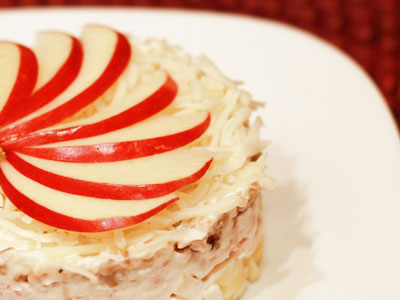 Луковый салат по-французски