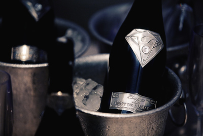 Самая дорогая в мире бутылка для шампанского