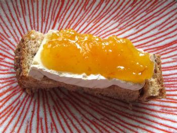 Варенье из абрикоса и белой черешни