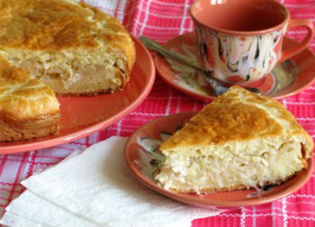 Пирог с капустой и яйцом в мультиварке