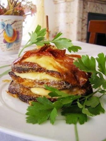 Бутерброды из баклажан в духовке