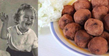 Трюфели. Рецепт из маминого детства.