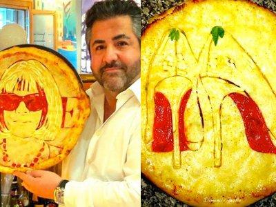 Шотландский итальянец режет пиццу с Обамой и туфлями Лабутен