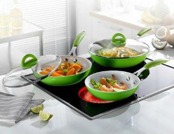 Материалы и покрытия современных сковородок