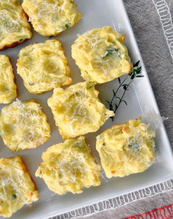 Бутерброды с тертым картофелем
