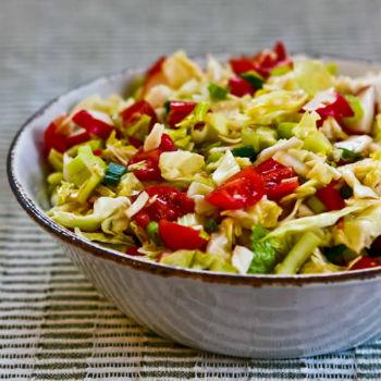 Витаминный салат из капусты на зиму