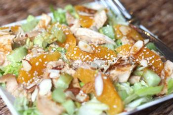 Салат «Маэстро» с курицей