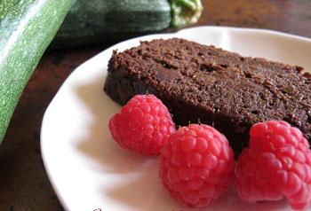 Безглютеновый шоколадно-кабачковый хлебец