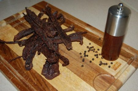 Beef jerky (Вяленая говядина)