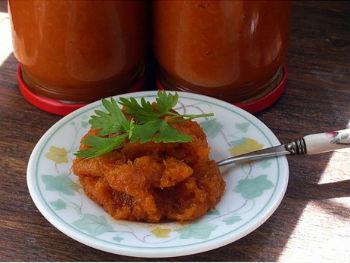 Аджика из кабачков и перцев