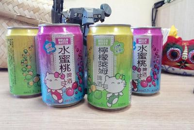 Пиво для фанатов Hello Kitty