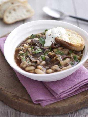 Ароматный итальянский грибной суп