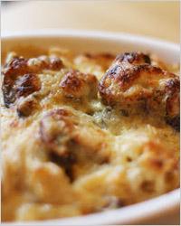 Грибы с сыром