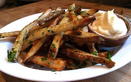 Как жарить картошку по-македонски