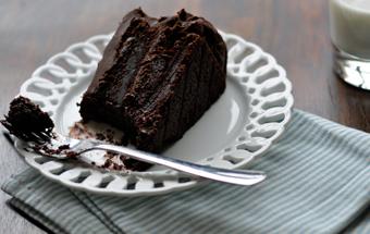 Торт шоколадный без муки