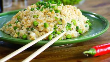 Рис с яйцом к ужину