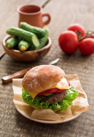 Гамбургер домашний