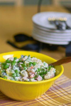 Копчено-мясной салат