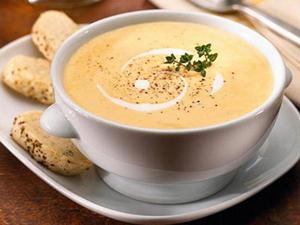 Белый суп баварской кухни